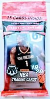 Panini Mosaic Prizm Cello Pack Basketball Cards Factory Sealed Retail New Zion
