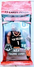 Panini Mosaic Prizm Cello Pack Basketball Cards Factory Sealed Retail Zion Ja