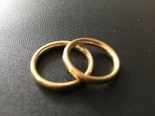 Wedding Band Size 5.25 18k Solid Yellow Gold