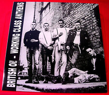 British Oi! Working Class Anthems LP RED VINYL RI NEW Close Shave/Condemned 84++
