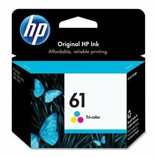 GENUINE HP 61 Color Ink Cartridge for Deskjet 3000 1010 3050 2540 ENVY 5530 4500