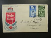 New Zealand SG# 719 & 720 Cacheted First Day Cover - Z4213