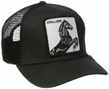 Goorin Bros. Animal Farm Trucker Snapback Baseball Hat Cap Black Horse Stallion