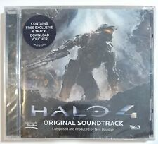 NEIL DAVIDGE ‎- HALO 4 :ORIGINAL SOUNDTRACK ( CD, Microsoft 2012 ) *Sealed*