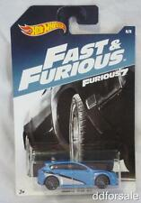 Subaru WRX STI 1/64 Scale Diecast Model From Fast & Furious by Hot Wheels