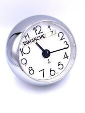 Rare Grande horloge JAZ modèle GLOBIC 1976 Yves Montand Vintage spherical clock