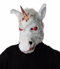 Adult Evil Unicorn Ani-Motion Costume Mask