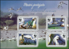 "2006 ""Romania"" WWF, Birds, Nature Souvenirsheet VF/MNH! LOOK!"