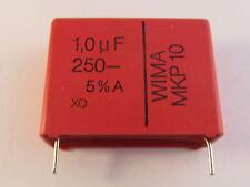 5 Stück - MKP10  1,0µF / 250V - RM27,5 WIMA -  5% Impulsfest Polypr. AE29/5975