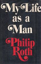 """PHILIP ROTH """"My Life as a Man"""" (1974) SIGNED First Printing of the FIRST EDITION"""