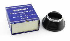 Voigtländer Lens Hood 310/32 black with Original Packaging - Metal Ø 32mm