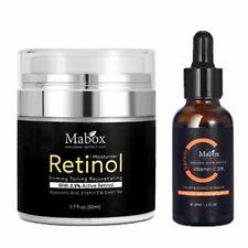 MABOX 2.5% Retinol Whitening face Cream + Vitamin C Serum Anti aging Anti