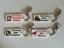 Personalised Keyring Bag Tag School Bag - can be printed with any image