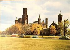 Vintage Postcard of The Smithsonian Institution Building, Washington Dc