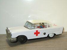 Mercedes Ambulance - Made in Korea - Tinplate Car *41210