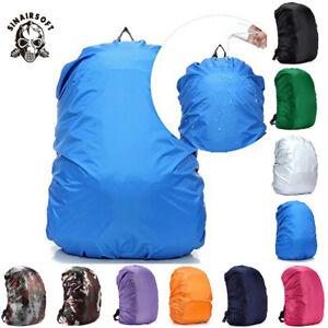 20L-80L Waterproof Backpack Cover Bag Camping Hiking Outdoor Rucksack Rain Dust
