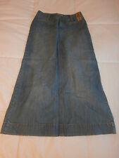 NEW W/TAGS Ladies Old Navy Size 1 Denim Skirt Ultra Low Rise W/Slit