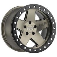 """Black Rhino Crawler 17x8.5 5x114.3 (5x4.5"""") -32mm Bronze/Black Wheel Rim"""