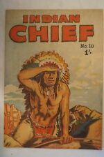CLASSIC - Rare - Vintage - 1953 - Australian Comic - Shilling - Indian Chief