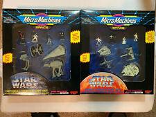 Micro Machines Star Wars Imperial Forces & Rebel Forces Set Vintage 1994 NIP