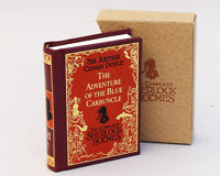 MINIATURE BOOK  Sherlock Holmes The Adventure of the Blue Carbuncle (SH7)