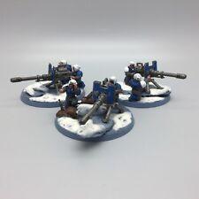 WARHAMMER 40,000 Guardia Imperiale armi pesanti Team autocannons x 3 dipinto