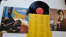 UDO LINDENBERG - Panische Zeiten 1980 GERMAN ROCK Inner + Insert (LP) Telefunken