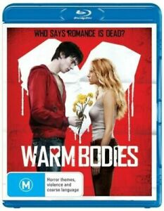 BLU-RAY - Warm Bodies - Who Says Romance Is Dead? - FREE POST #P2