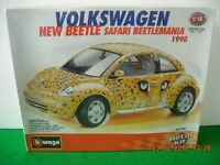 KIT NEW BEETLE SAFARI 1998 SCALA 1:18 BBURAGO ITALY ANNI '90