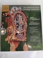 1997 Horloge Médiévale/Médiéval Clock Wrebbit/ Built Art/ puzzle 3D neuf scellé