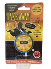 Take Away Food Keyring Novelty Key Chain Fun Joke Xmas Gift Secret Santa Gadget