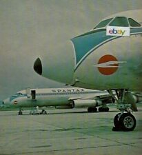 SPANTAX AIRLINES SPAIN CONVAIR 990 & DC-8 DYNAMIC CHARTER AIRLINE 1979 6 PGS