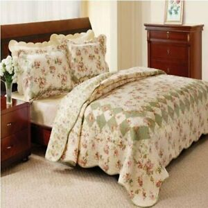 Greenland Home Bliss Quilt & Sham Set Twin Full/Queen Or King