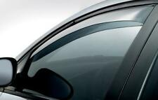 Front Wind Deflectors for Nissan Qashqai 2014 Onwards 5 Door Tinted