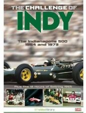 CHALLENGE OF INDY 500 1964, 1973 DVD. 12 HOURS SEBRING 1965. 73 MINS. DUKE 3656N
