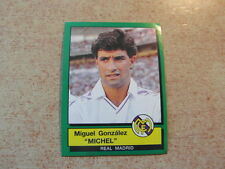 vintage collector PANINI FOOTBALL FUTBOL ESPANA 90 1990 : MICHEL REAL MADRID