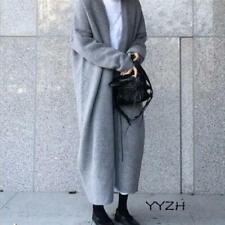 Women Fashion Long Sweater Cardigan Jacket Long Knit Coat Outwear Loose One Size