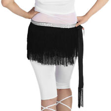 Tassel Fringe Belly Dance Dancer Costumes Hip Scarf Belts Waist Wraps Skirt