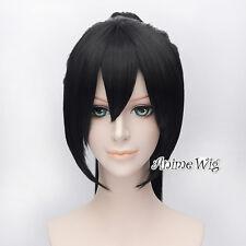 Kagamine Len Vocaloid Cosplay 30CM Black Anime Hair Wig + 60cm Ponytails