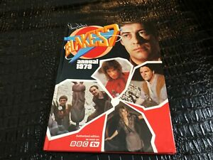 1979 BLAKES 7  ANNUAL -  hard cover book ( NOS )