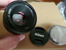 Nikon 50mm f/1.8D AF Nikkor Lens for Nikon Digital SLR Cameras - Used Once