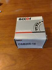 "CSB205-16 1"" Bore Insert Bearing with Set Screw Lock 1""id x 52mm od"