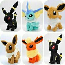 "Eevee Vaporeon Cuddly Plush Soft Toy Stuffed Animal Doll Toy Gift 12"""