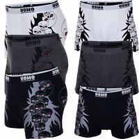 New Mens Skull Print Cotton Boxer Shorts Boxers Pants Underwear Size M L XL XXL