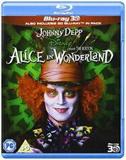 Alice in Wonderland (Blu-ray 3D) [DVD][Region 2]