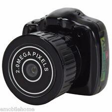 Y2000 DC 5V 2.0MP Portable Mini Camcorder HD Video Camera Pocket DV DVR