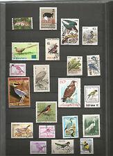 Vögel Vogel Sellos Stamps