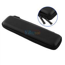 1pc Portable EVA Hard Shell Pencil Case Holder Makeup Bag Stationery Pouch Black