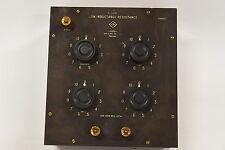 Instrument Co Ltd Low Inductance Resistor / Resistance Decade Box - Vintage