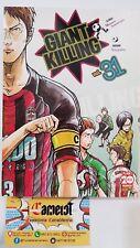 9788891260260 Giant Killing 31 Tsunamoto-Tsujitomo 1^Ediz Planet Manga Fumetto